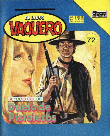 Libro Vaquero