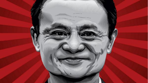 Gráfico de la revista Times que nombró a Jack Ma uno de los personajes de este 2014.
