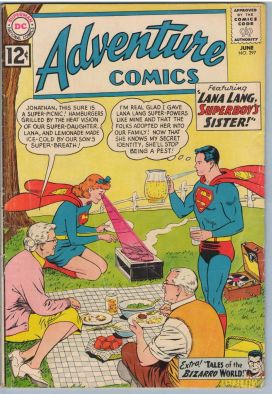 Superman picnic